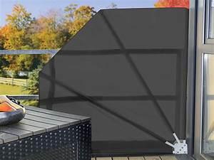 Sonnenrollo Für Terrasse : royal gardineer sichtschutzf cher sichtschutz f cher f r balkon 140 x 140 cm anthrazit ~ Frokenaadalensverden.com Haus und Dekorationen