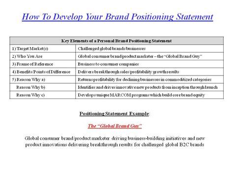 best photos of personal branding statement resume exles