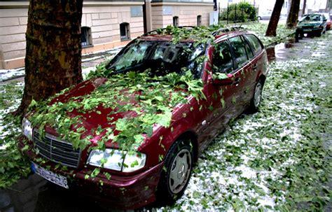 welche autoversicherung zahlt nach dem unwetter auto