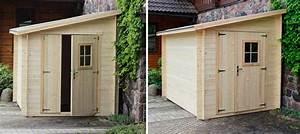 abri en bois adossee 6 m2 modele lassen oogarden france With abri de jardin adossable