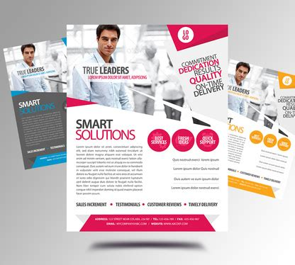 design professional business flyersposters