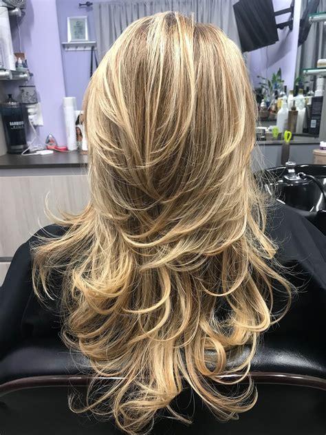 instagram com/LizaBabeHair Long layered haircuts