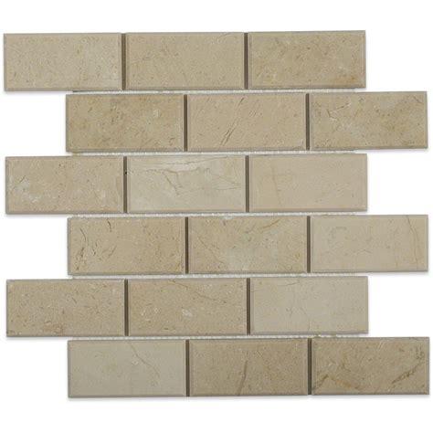 2 x 8 beveled subway tile crema marfil 2x4 main