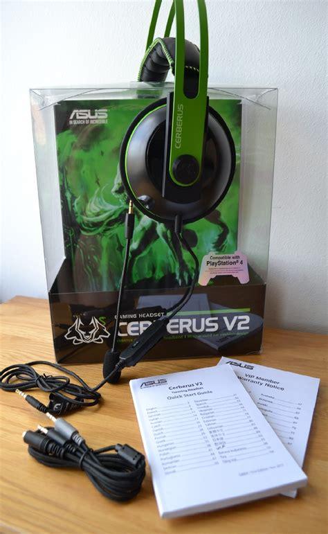 asus cerberus  gaming headset review playr