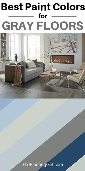 which paint colors go best with gray floors hometalk summer inspiration grey flooring best