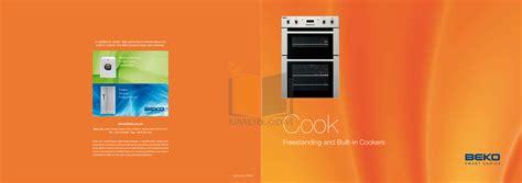 beko  cookers  manual