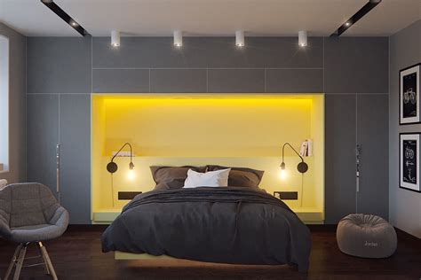 Gray And Yellow Bedroom Ideas by Five Shades Of Grey Bedroom Design Ideas Idesignarch