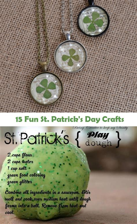 st patricks day crafts  list  lists
