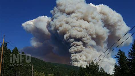 UPDATE: Wildfire burning east of Kelowna forces evacuation ...