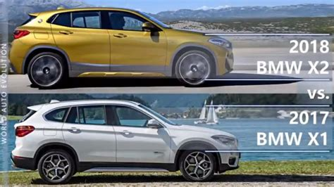 bmw x1 zubehör 2018 bmw x2 vs bmw x1 technical comparison