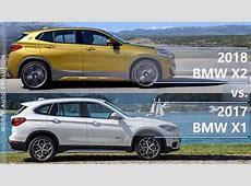 2018 BMW X2 vs BMW X1 technical comparison YouTube