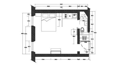 canapé lit studio rénovation d un petit espace comme une chambre d hôtel