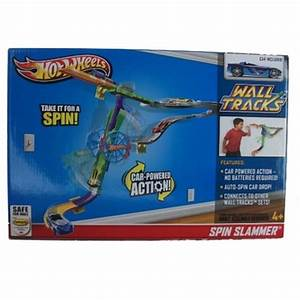 hot wheels wall tracks spin slammer playset With hot wheels wall tracks template