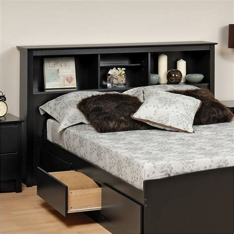 king bed with bookcase headboard king size storage bed with bookcase headboard advice for