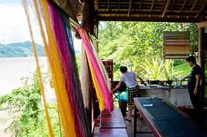 tok presentation silk dyeing 101 at ock pop tok explore laos