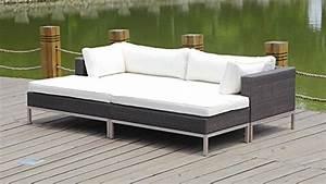 Outdoor Loungemöbel Polyrattan : talfa polyrattan loungem bel montepellier anthra online kaufen bei woonio ~ Orissabook.com Haus und Dekorationen
