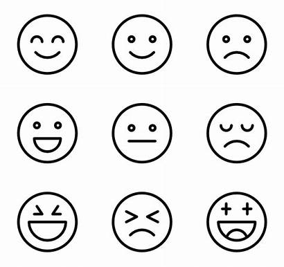 Emotions Icons Smiley Vector Clipground