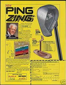 Ping Iron Color Chart Vintage Sports Advertisements Of The 1990s Page 3