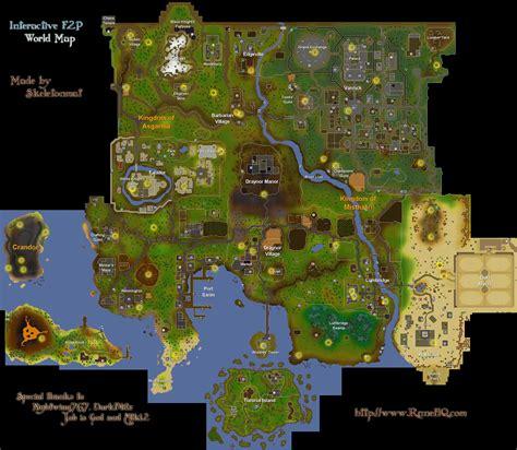 world map runescape guide runehq