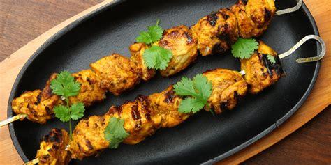 recette brochettes de poulet au curry facile mes