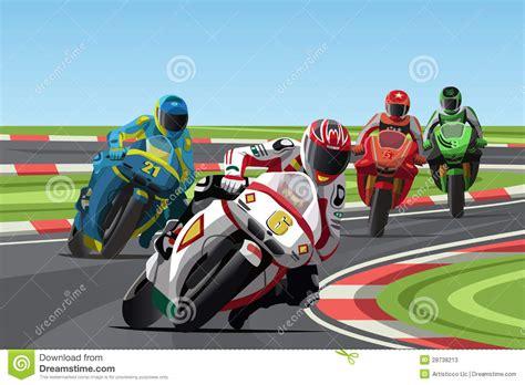 Motorcycle Racing Stock Photos