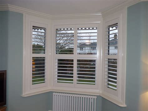 Window Shutter by Angled Bay Window Shutters Gallery Chichester Shutters