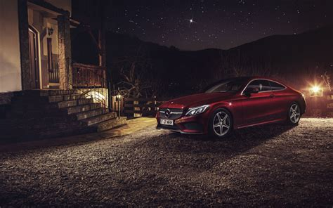 Mercedes C Class Coupe 4k Wallpapers by Wallpapers Mercedes C63 Amg Coupe 4k