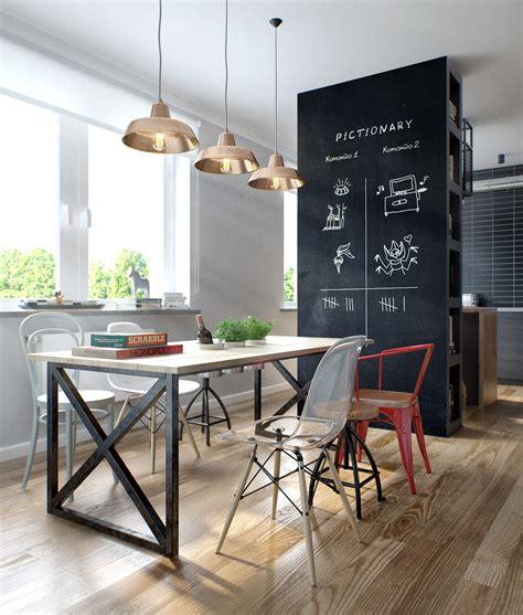 Eclectic Single Bedroom Apartment With Open Floor Plan eclectic single bedroom apartment with open floor plan