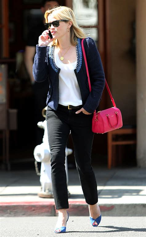 reese witherspoon   pink handbags purseblog