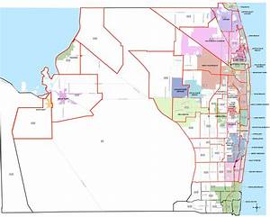 Palm Beach County Florida Map Zip Codes