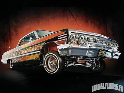 Lowrider Impala 1963 Chevrolet Magazine Cars Ladies