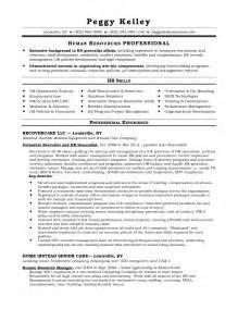 resume of hr generalist sle hr generalist resume free resumes tips