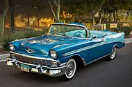 1956 Chevy Convertible Classic Car