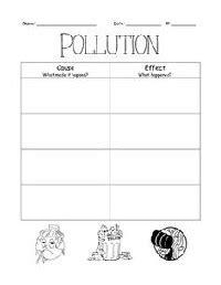 Water Pollution Worksheets For Kindergarten  Air Pollution Worksheets Grade 5 Worksheets49 Free