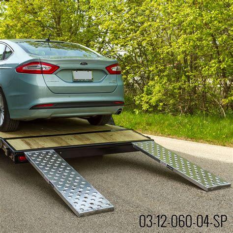 Ez Traction Hybrid, Hook & Plate End Aluminum Car Trailer