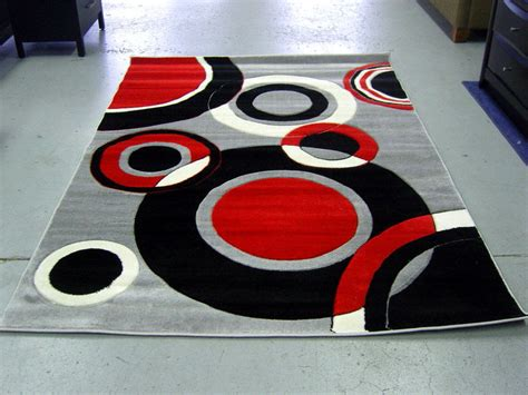 Red Black White Rug Roselawnlutheran