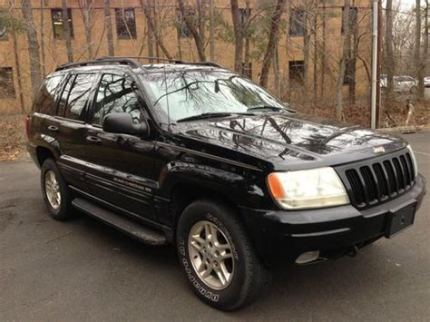 jeep cherokee sunroof buy used 1999 jeep grand cherokee limited 4x4 leather