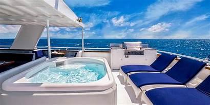 Luxury Deck Yacht Key West Below Asia