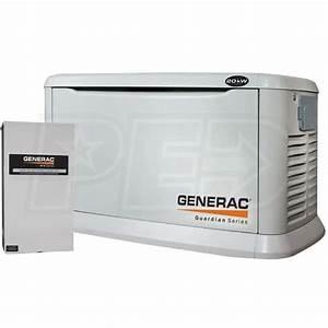 Generac Guardian 6244  U2122 20kw Aluminum Standby Generator