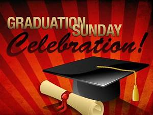 High School Graduation Program Covers Graduation Sunday Powerpoint