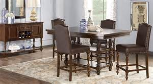 5 dining room sets stanton cherry 5 pc counter height dining room dining room sets wood