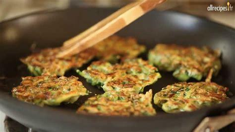 recette de cuisine avec des courgettes recette pour faire des galettes croustillantes aux