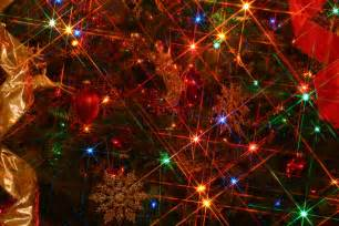 Twinkling Christmas Tree Lights by Christmas Lights Background Wallpapers Win10 Themes
