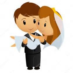 dragging groom novia lleva dibujos animados novio vector de stock