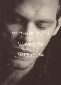 Klaus Mikaelson... Mikaelson Quotes