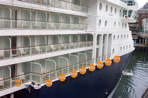 which summit balcony is larger cruise critic message board forums