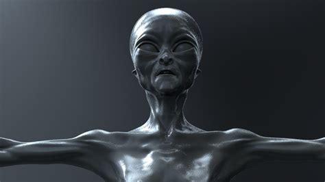 Alien Humanoid 3d Model Obj Ztl