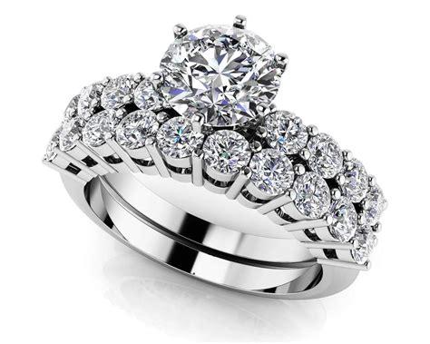 diamond bridal sets wedding ring sets