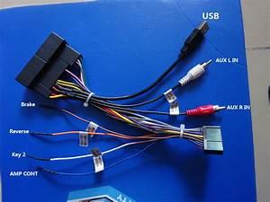 Hotaudio Ha2xxx Stereo Wiring Harness Adaptor Power Cable For Iso Toyota Vw Nissan Kia Hyundai