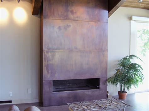 copper fireplaces copper fireplace surround smith brothers construction